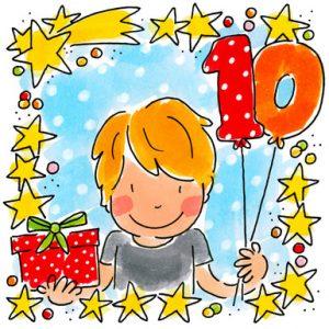 Leuke verjaardagswensen 10 jaar