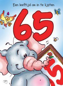 Verjaardagswens 65 jaar