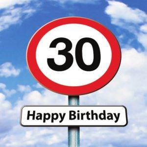 Verjaardagswensen 30 Jaar 30 Jaar Gefeliciteerd