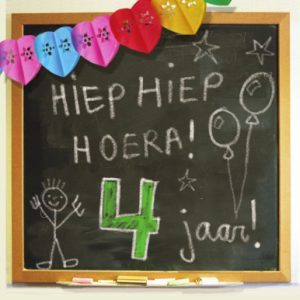 Verjaardagswensen 4 jaar