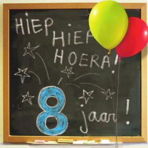 Verjaardagswensen 8 jaar